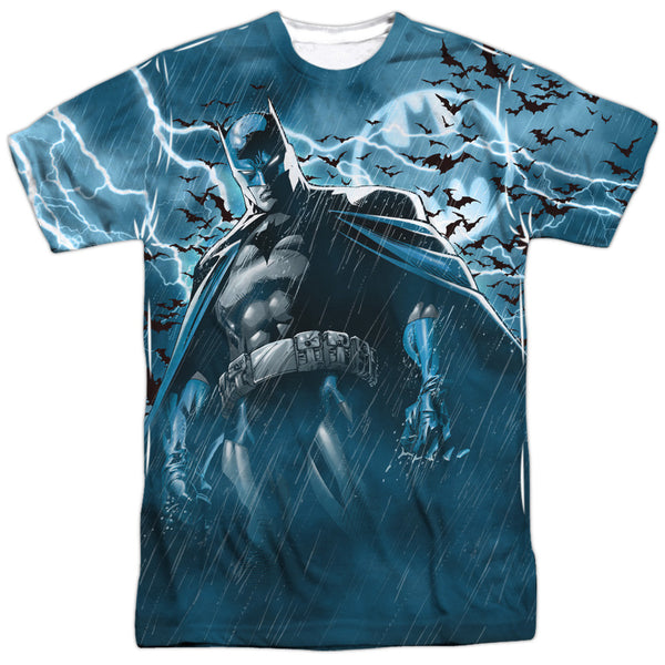 Batman Stormy Knight Adult Tee - Front Print Only