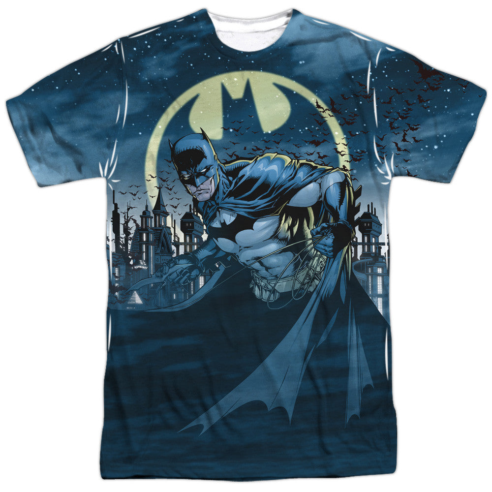 Batman Heed The Call Adult Tee - Front Print Only