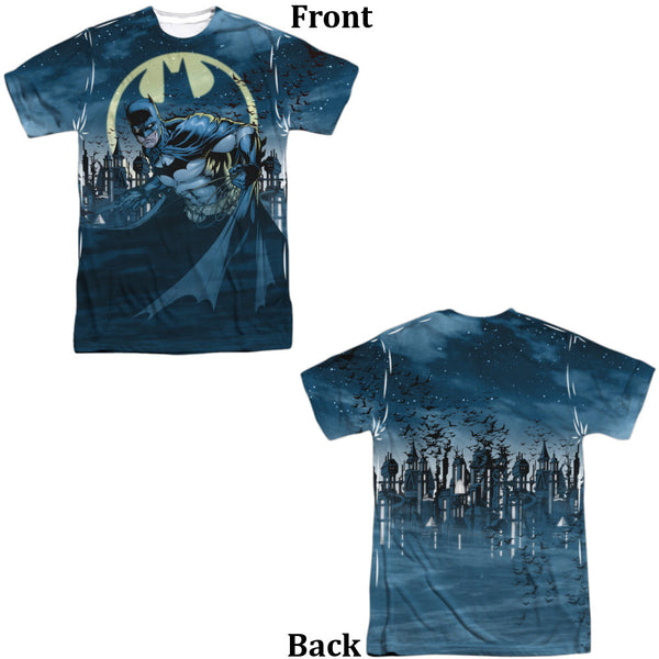 Batman Heed The Call Adult Tee - Front And Back Print