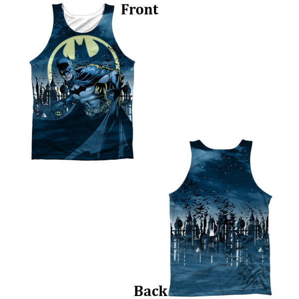 Batman Heed The Call Adult Tank Top - Front And Back Print