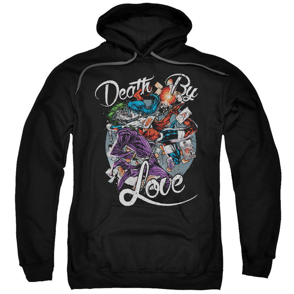 Harley Quinn/Joker Death by Love Adult Hoodie