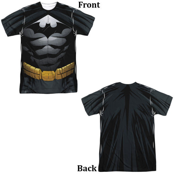 Batman Uniform Adult Tee - Front and Back Print