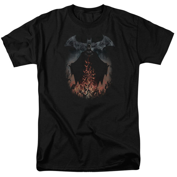 Batman Smoke&Fire Adult Tee