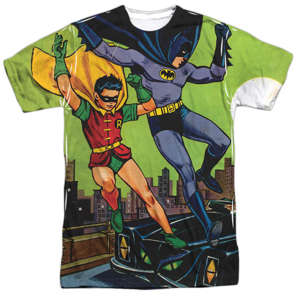 Batman Getaway Adult Tee - Front Print Only