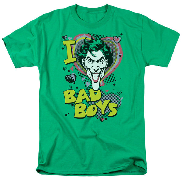 "Joker ""I Heart Bad Boys"" Adult Tee"
