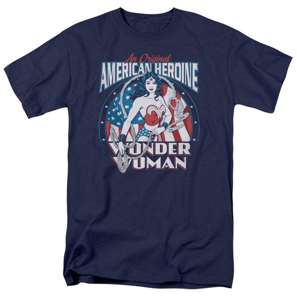 Wonder Woman American Heroine Adult Tee