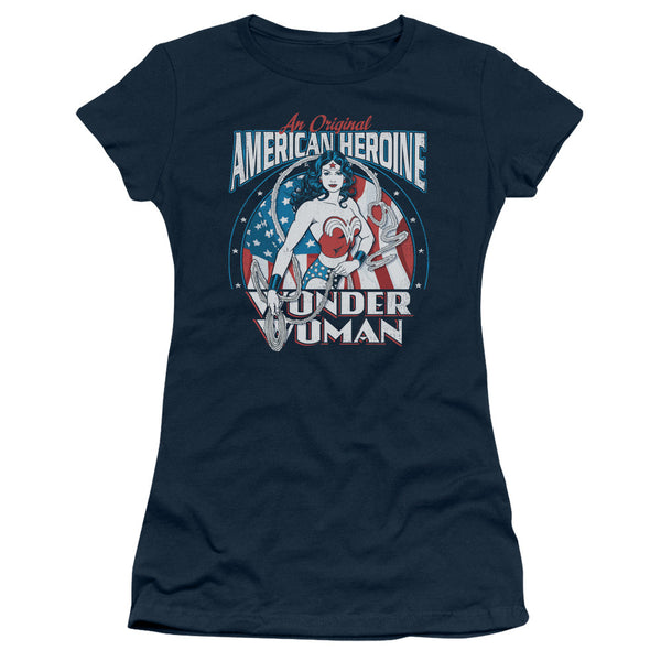 Wonder Woman American Heroine Juniors Tee