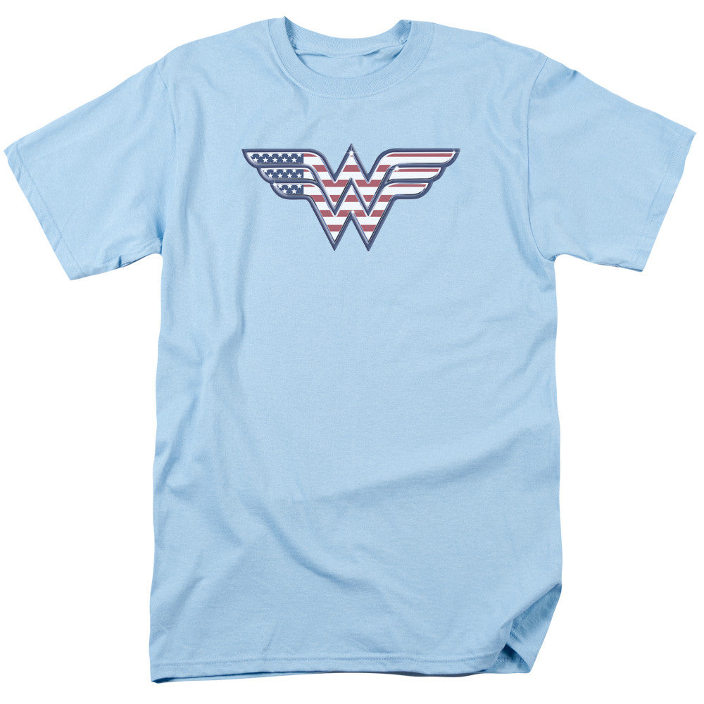Wonder Woman Red, White, and Blue Adult Tee