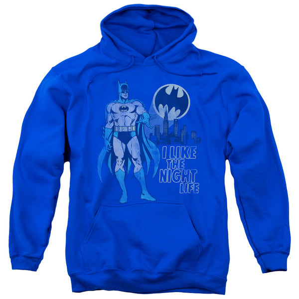 Batman Night Life Adult Hoodie