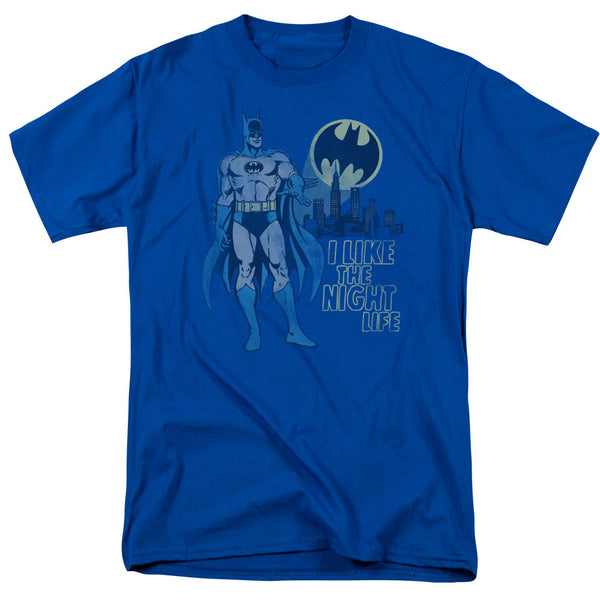 Batman Night Life Adult Tee