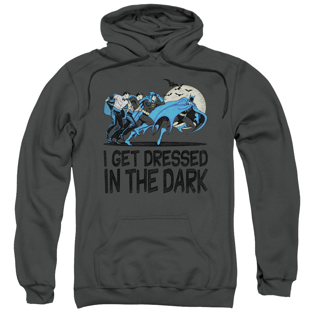 Batman Dressed in the Dark Adult Hoodie