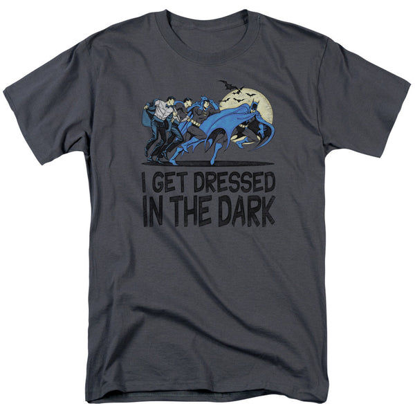 Batman Dressed in the Dark Adult Tee