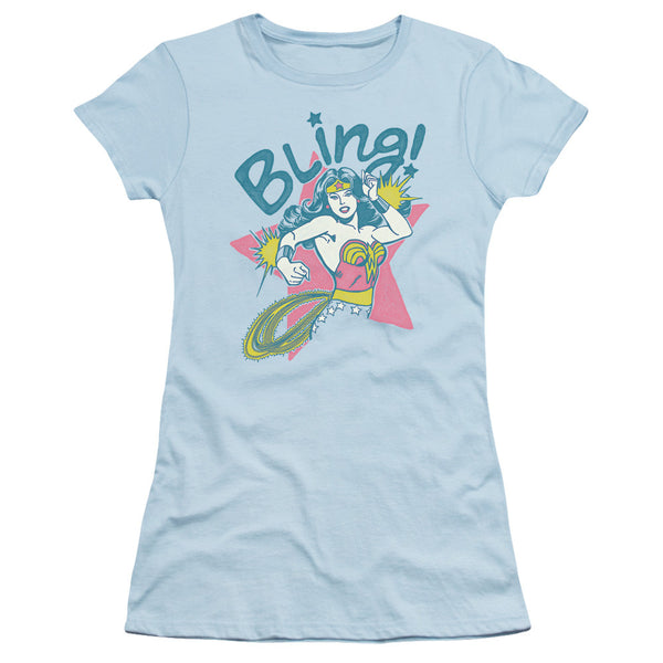 Wonder Woman Bling Juniors Tee