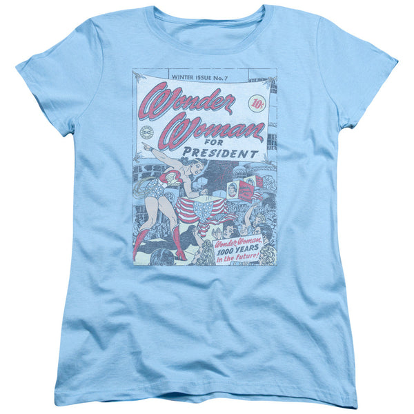 Wonder Woman For President Womens Tee