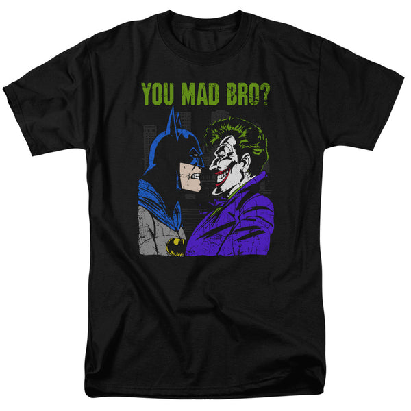 "Batman/Joker ""You Mad Bro""  Adult Tee"