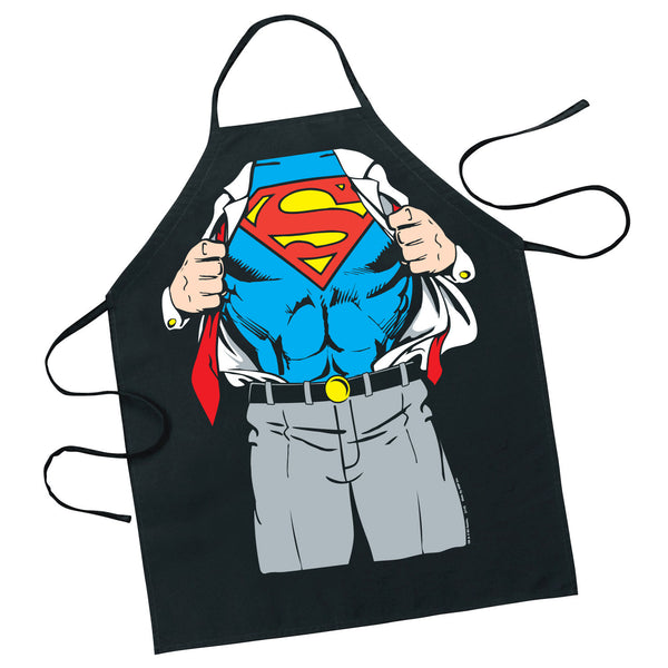 Superman Character Revealed Adult Apron