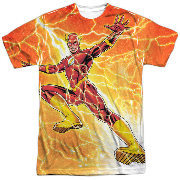 Flash Fast As Lightning Adult Tee - Front Print Only