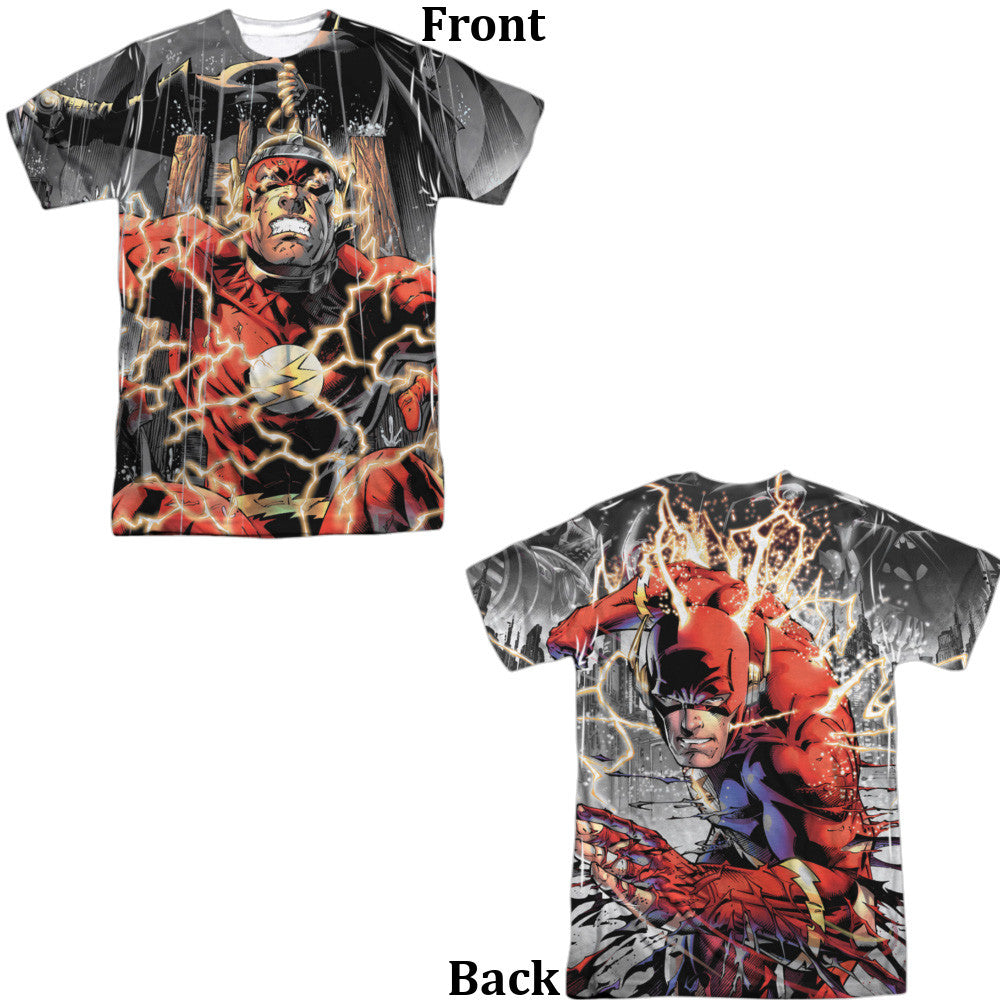 Flash Shock Therapy Adult Tee - Front And Back Print