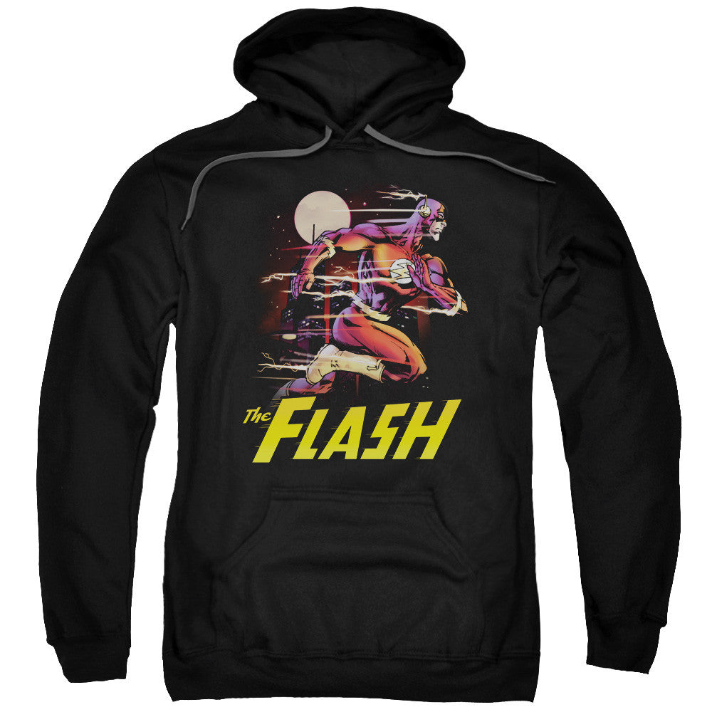 Flash City Run Adult Hoodie