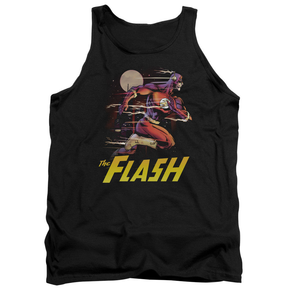 Flash City Run Adult Tank Top