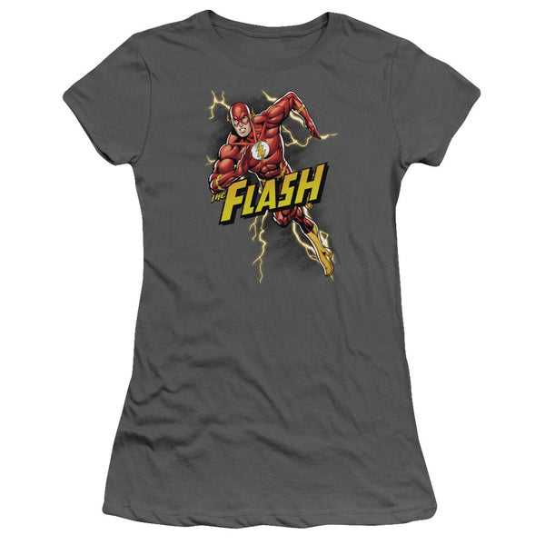 Flash Bolt Run Juniors Tee