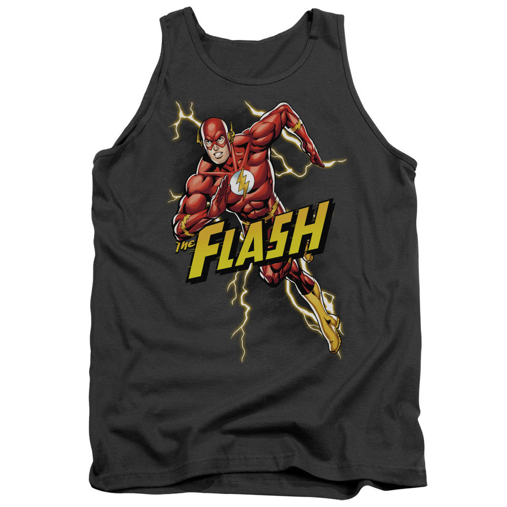 Flash Bolt Run Adult Tank Top