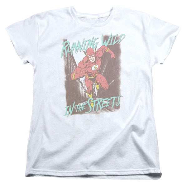 Flash Running Wild Womens Tee