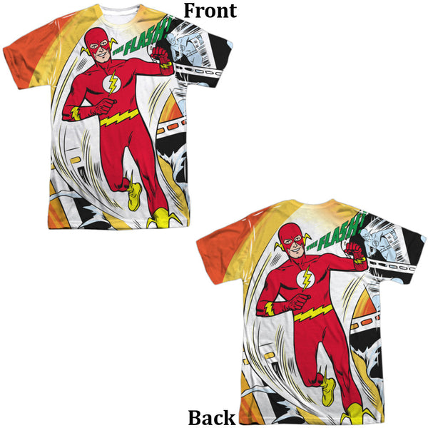 Flash Filmstrip Adult Tee - Front And Back Print