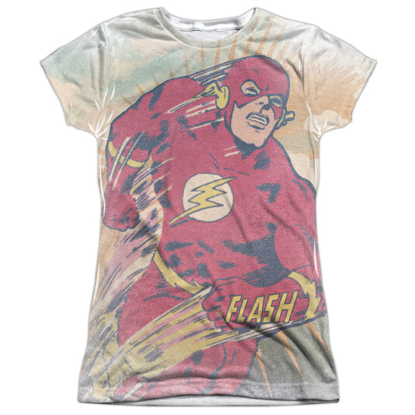 Flash Daytime Run Juniors Tee - Front Print Only