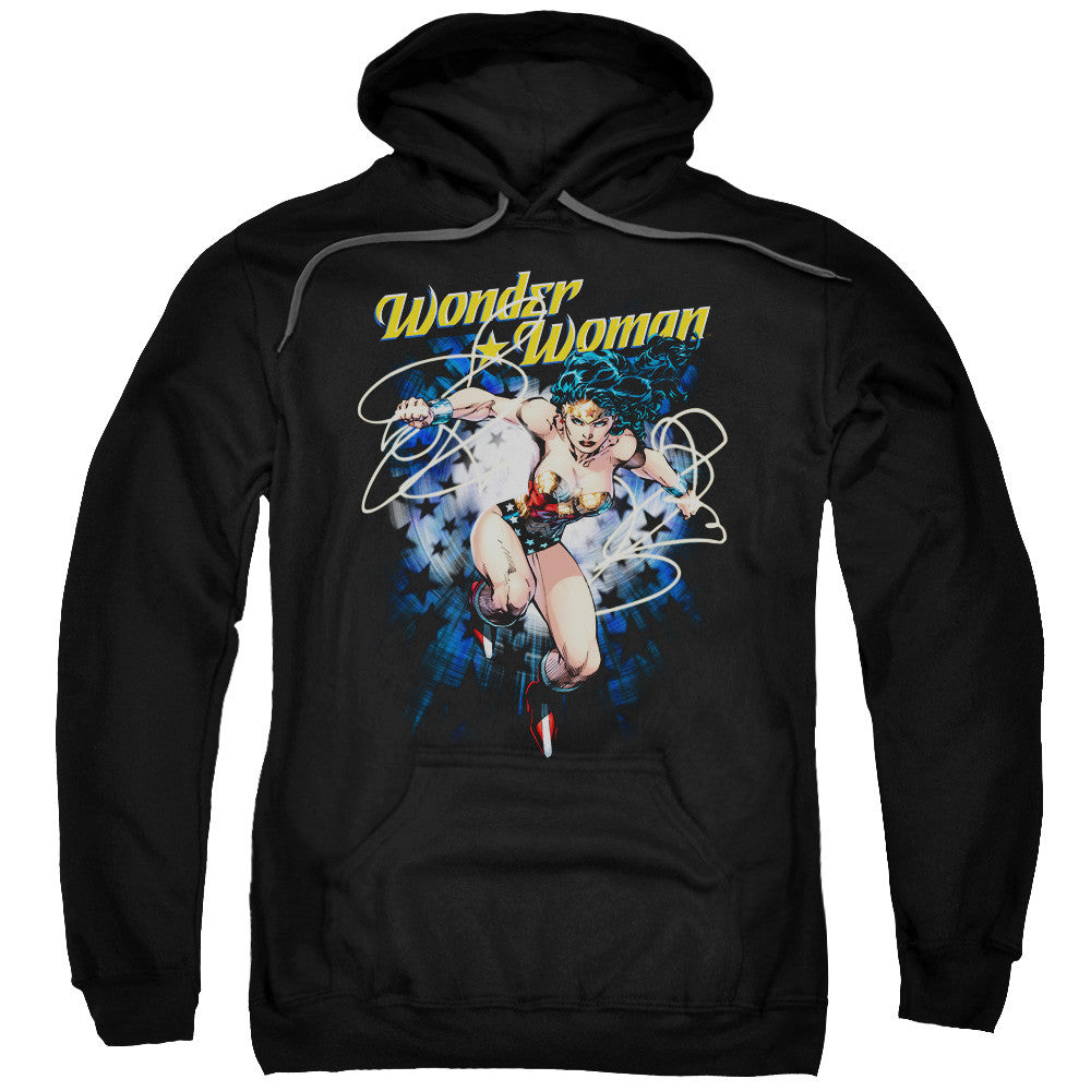 Wonder Woman Starburst Adult Hoodie