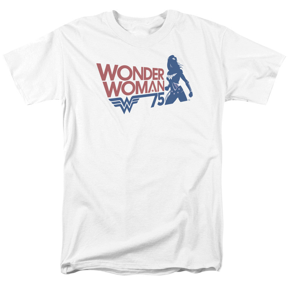 Wonder Woman WW75 Silhouette Adult Tee