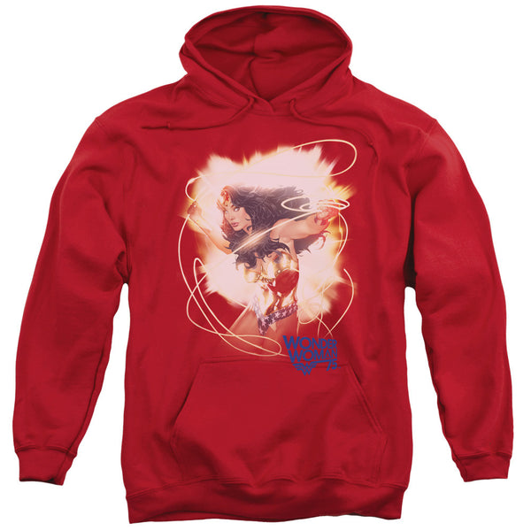Wonder Woman 75th Burst Adult Hoodie