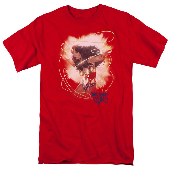 Wonder Woman 75th Burst Adult Tee