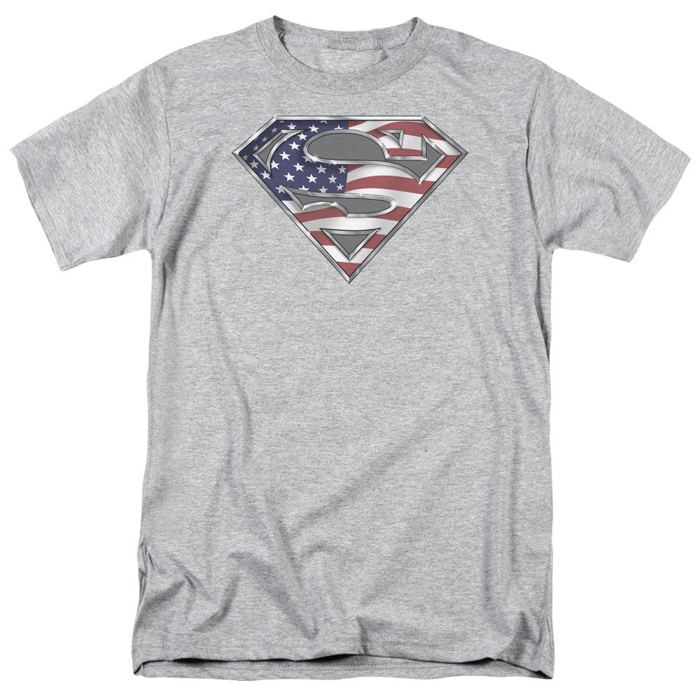 Superman All American Adult Tee