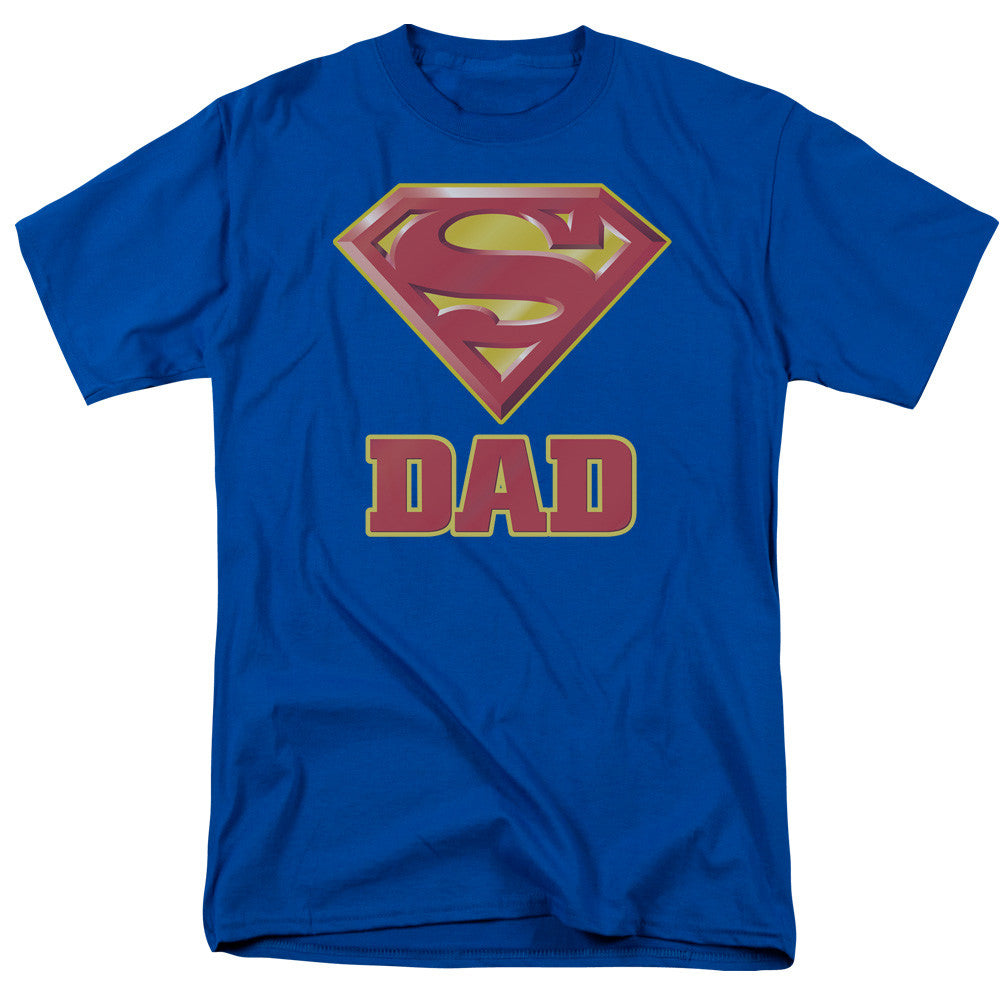 Superman Super Dad Adult Tee