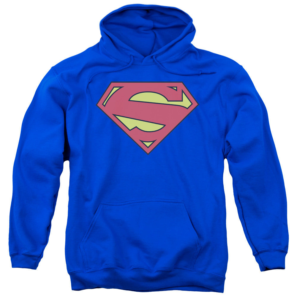 Superman New 52 Logo Adult Hoodie