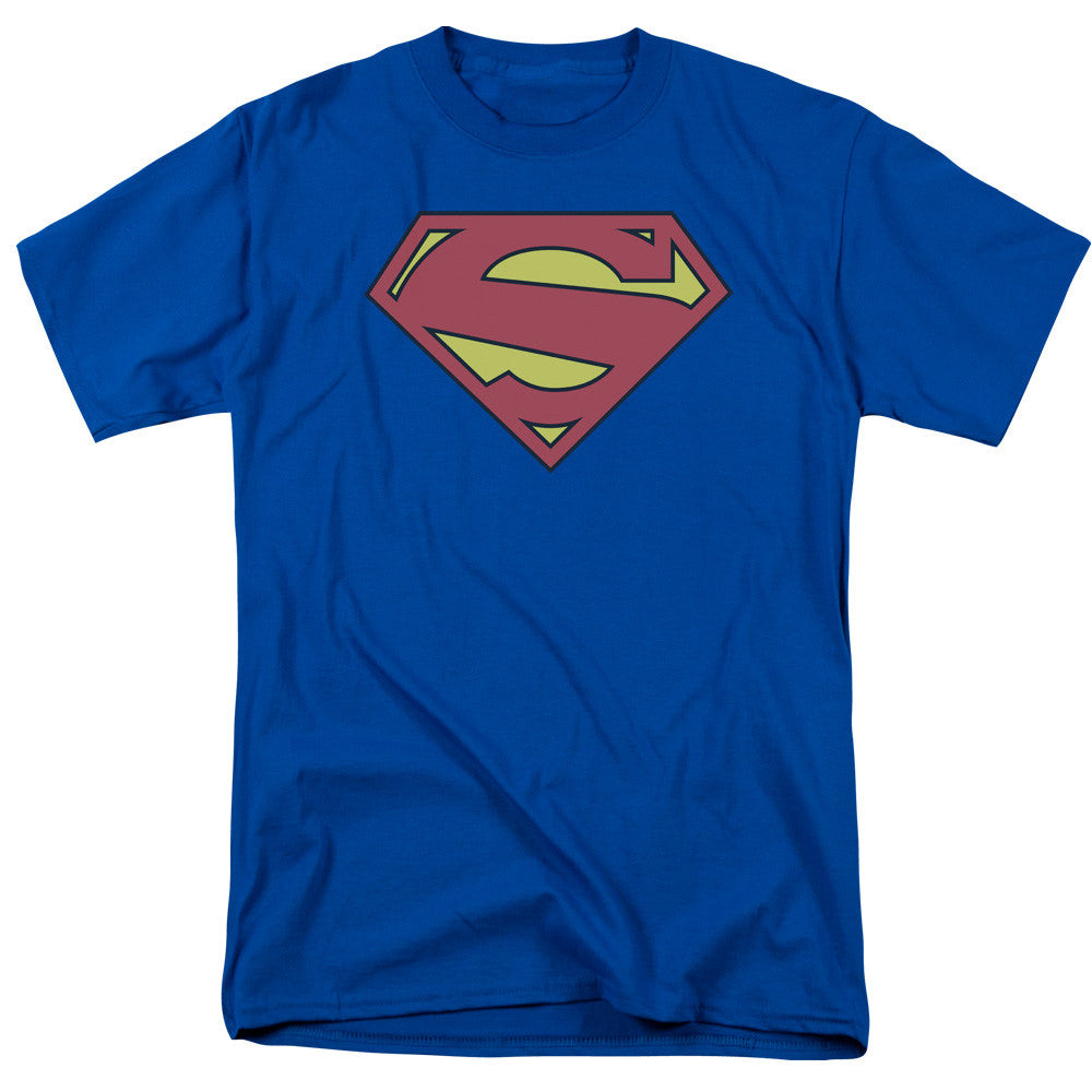 Superman New 52 Logo Adult Tee
