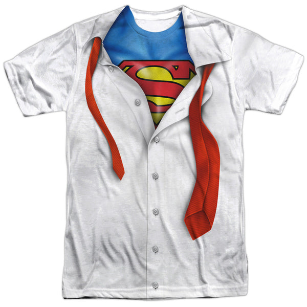 Superman Suit and Tie Adult Tee - Front Print Only