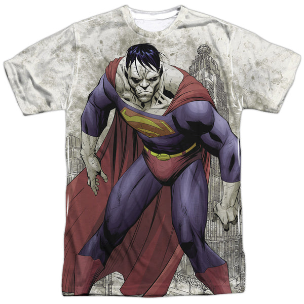 Superman Bizarro Adult Tee - Front Print Only
