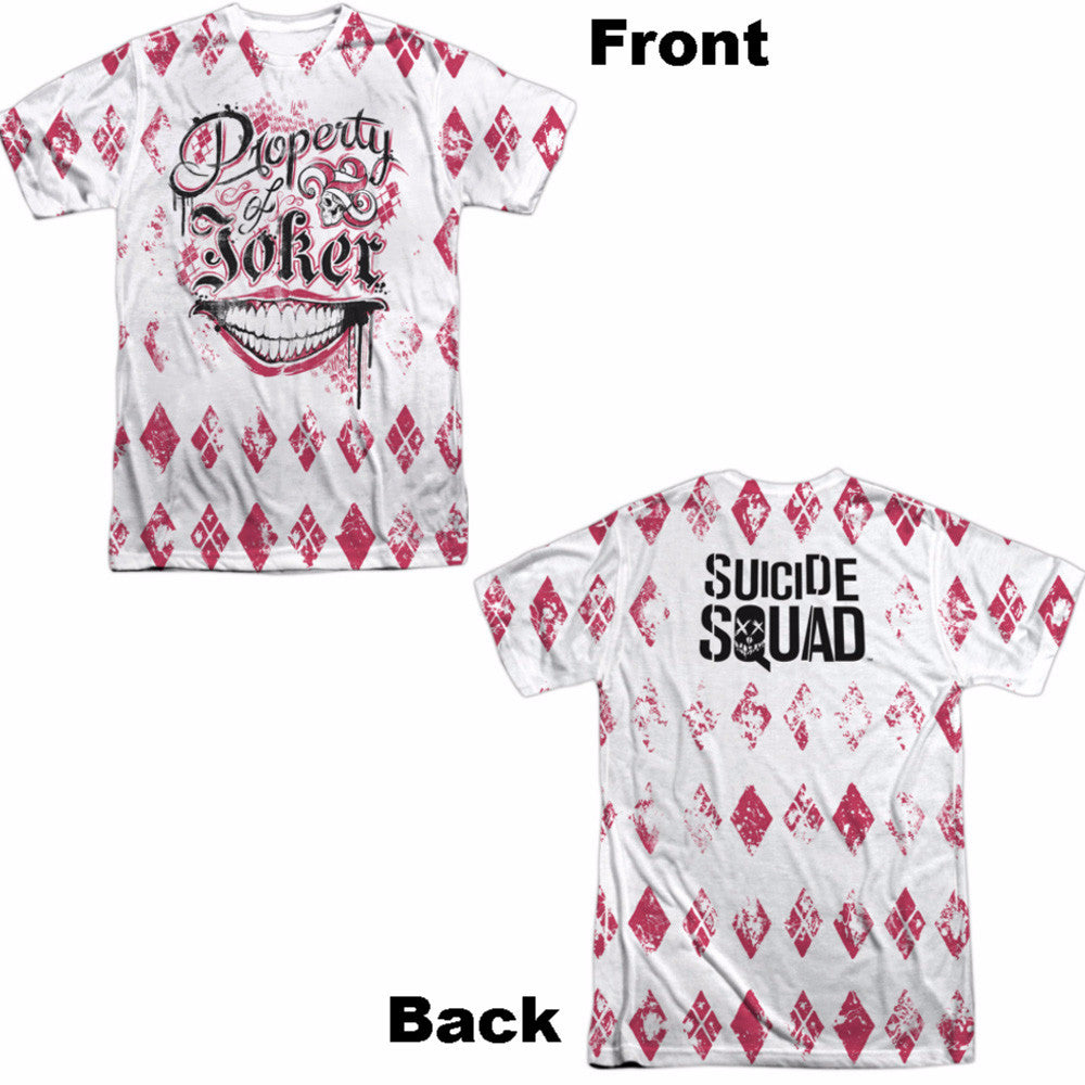 Suicide Squad Teachers Pet Adult Tee - Front and Back Print