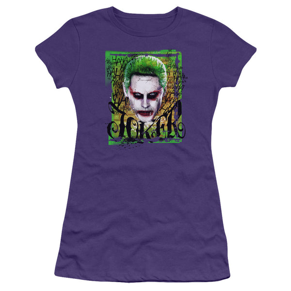Suicide Squad Empire Joker Juniors Tee