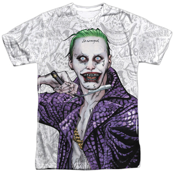 Suicide Squad Across the Throat Adult Tee - Front Print Only