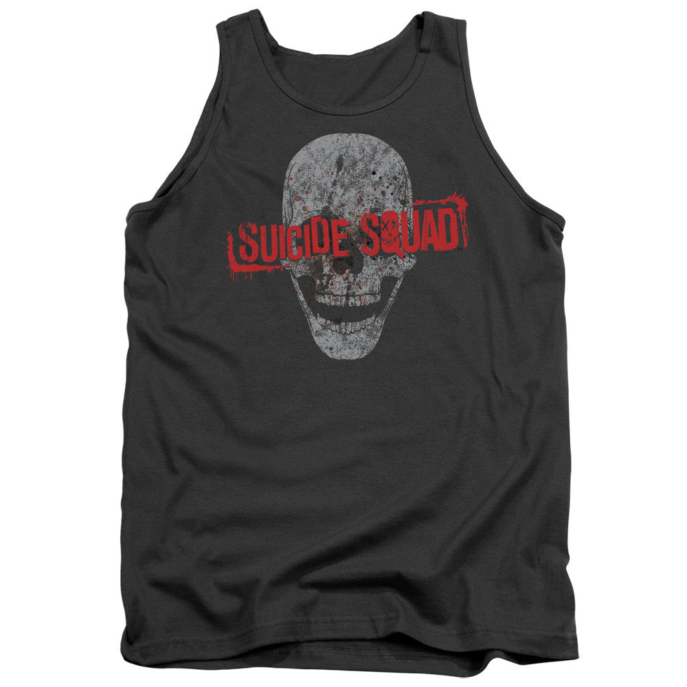 Suicide Squad Skull Tank Top