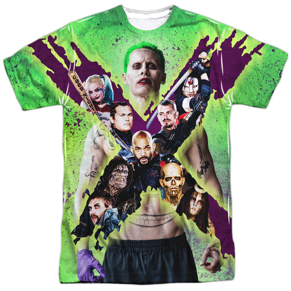Suicide Squad Taskforce X Adult Tee - Front Print Only