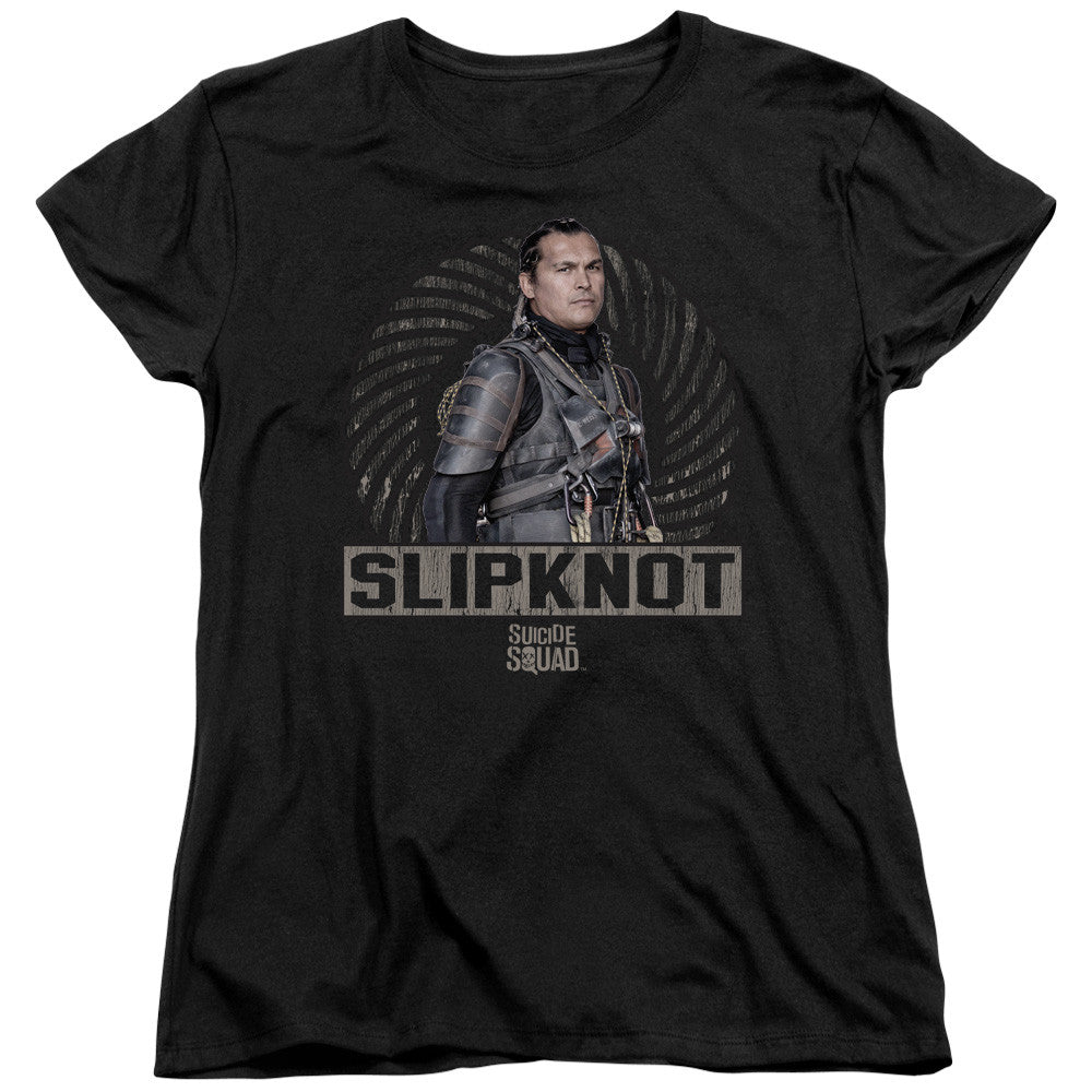 Suicide Squad Slipknot Rope Womens Tee
