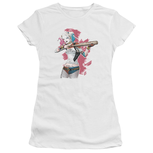 Suicide Squad Bat Aim Juniors Tee
