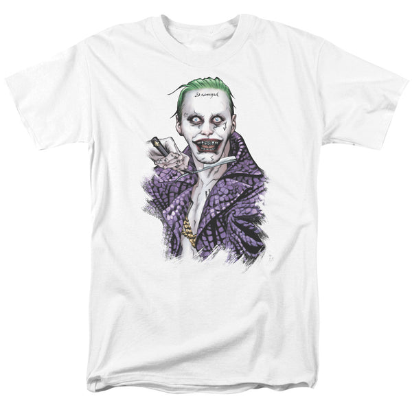Suicide Squad Blade Adult Tee - White