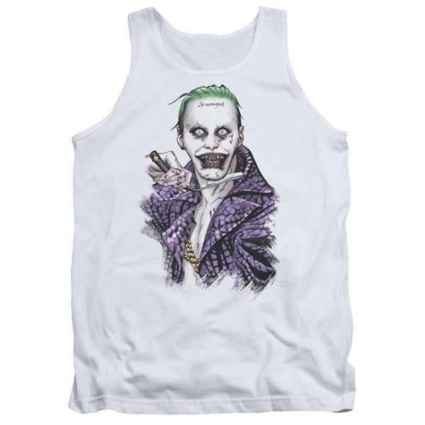 Suicide Squad Blade Tank Top - White