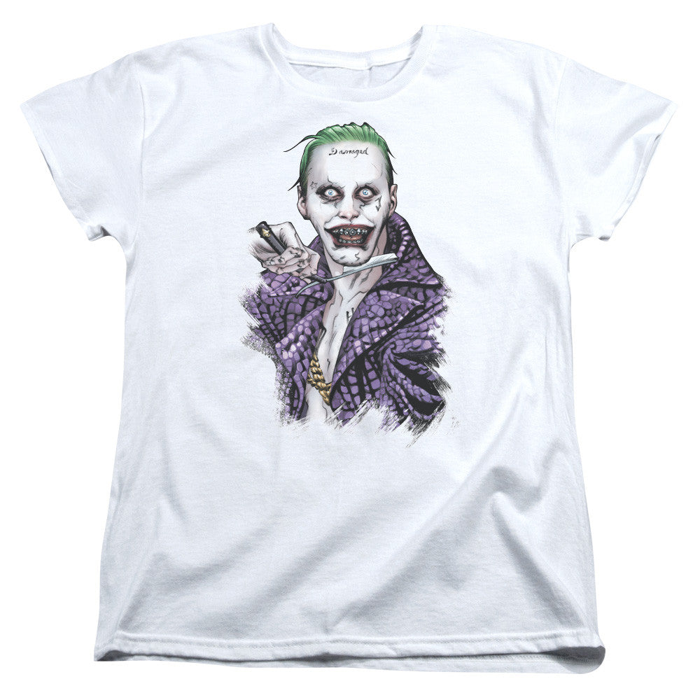 Suicide Squad Blade Womens Tee - White