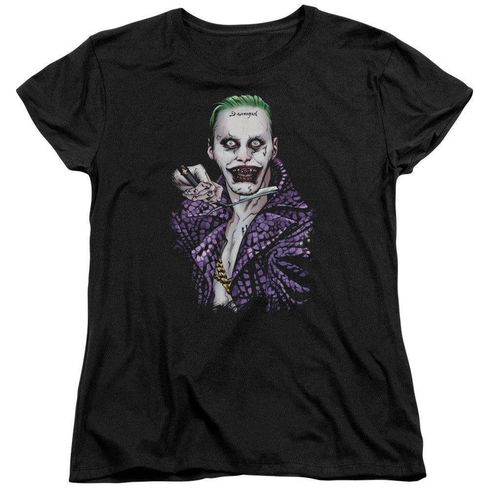 Suicide Squad Blade Womens Tee - Black